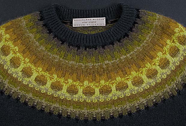Picture of pullover in Gold