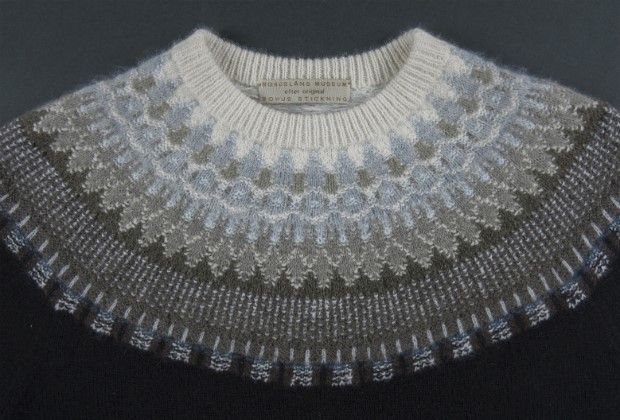 Picture of pullover,The Bohus Large Lace Collar